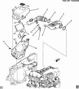 Chevrolet Trailblazer Bolt  Air Cleaner To Carb  Throttle