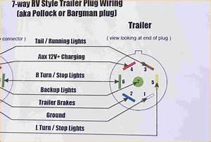 7 Way Trailer Wiring Diagram Color