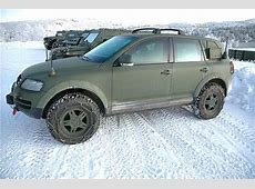 Volkswagen Touareg Military Edition Carscoops