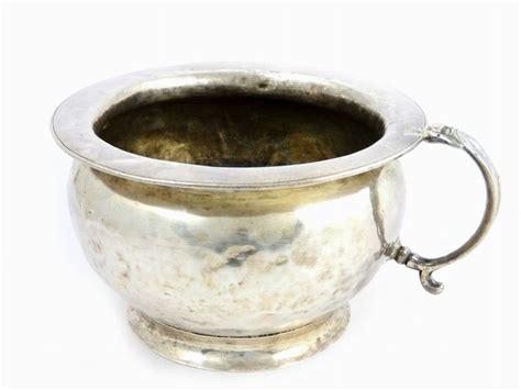 antico vaso antico vaso da notte in argento asta un antico casale