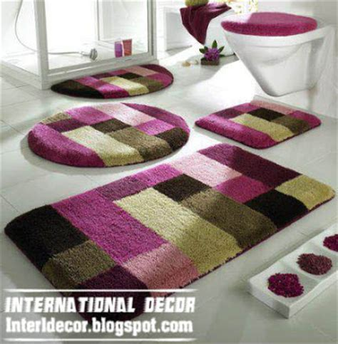 Pink Bathroom Rug Set by 10 Modern Bathroom Rug Sets Baths Rug Sets Models Colors