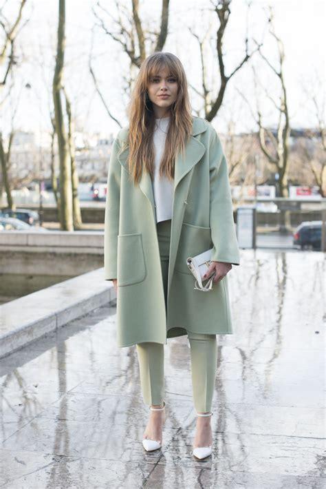 Street Style Paris Fashion Week Day Two Womenswear Fall