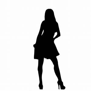Woman Silhouette | Free Stock Photo | Illustrated ...