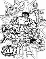 Coloring Super Pages Hero Squad Marvel Superhero Printable Colouring Magnificent Imaginext Dino Disney Christmas Getcolorings Books sketch template