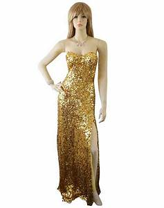 5 best cheap sparkly sequin long gold prom dresses 2017