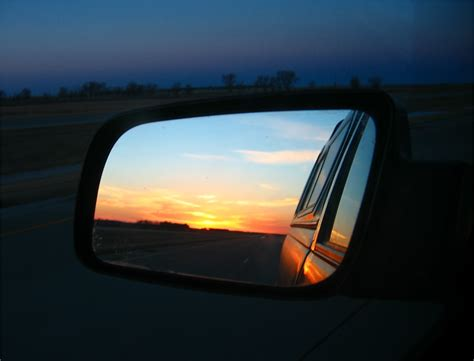 Soul Amp Photo Sunrise Flame Rearview Mirror