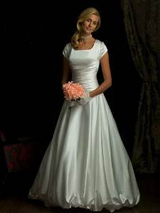 simple ivory ball gown wedding dress with cap sleeves With simple ball gown wedding dresses