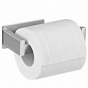 Klorollenhalter Edelstahl Matt : toilettenpapierhalter ohne bohren test wohn design ~ Frokenaadalensverden.com Haus und Dekorationen