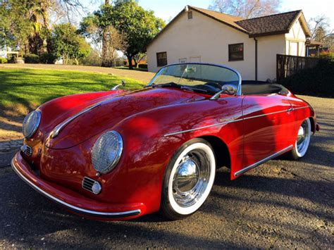 Fully Electric Cars For Sale by 1956 Porsche 356a Fully Electric Conversion Vintage