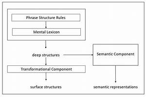 Model Of A Transformational Generative Grammar Theory
