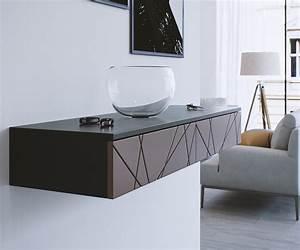 Console D Entrée Design : console d 39 entr e double stockholm blanc beige l1100 x p338 x h159 mm ~ Teatrodelosmanantiales.com Idées de Décoration