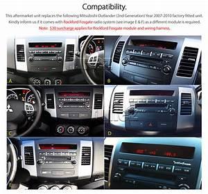 Car Gps Dvd Player Mitsubishi Outlander Ls Zg Radio Stereo Usb Mp3 Fascia Kit Tu 769572712437
