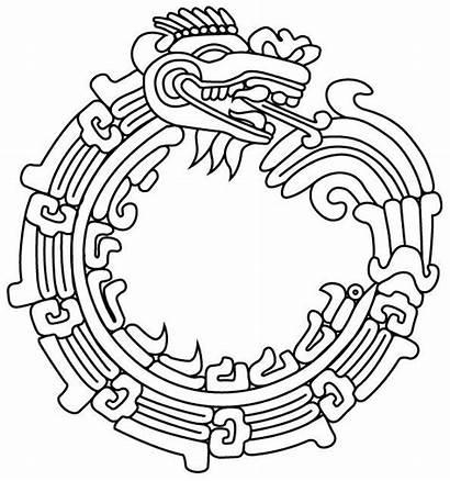 Ouroboros Tattoo Mayan Maya Aztec Quetzalcoatl Tattoos