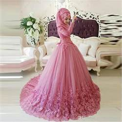 arabic muslim wedding dress 2016 turkish gelinlik lace