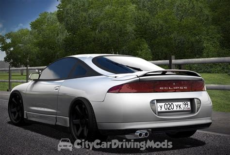 Mitsubishi Eclipse Mods by Mitsubishi Eclipse City Car Driving Mods Place Ccdmods