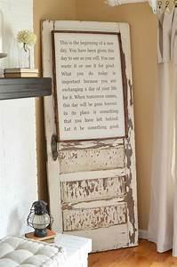 Best old door decor ideas on diy projects