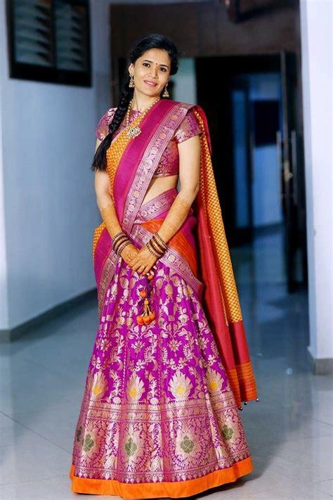 best 25 half saree ideas on half saree lehenga simple lehanga and lehenga choli