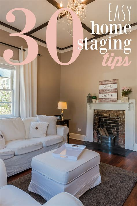 30 easy home staging tips to sell your house fast