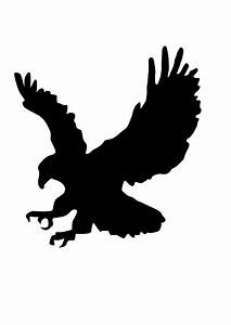 Eagle Silhouette Vector Free - ClipArt Best