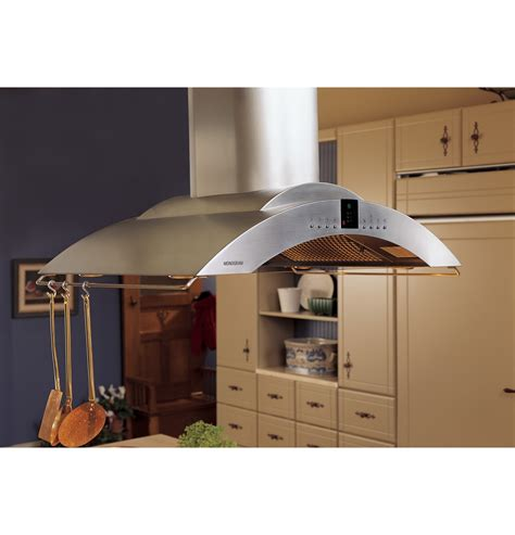 monogram  island vent hood zvspss ge appliances