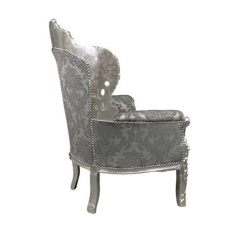 canap style baroque pas cher fauteuil baroque argent royal rococo meuble et canapé