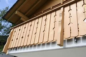 Holz Für Balkongeländer : holzfassaden balkongel nder felder handwerk design ~ Lizthompson.info Haus und Dekorationen