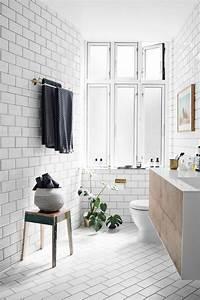 salle de bain scandinave idees deco et mobilier With tapis de gym avec le corner canapé scandinave