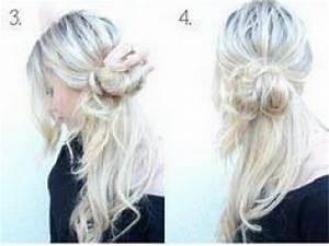 Coiffure Mariage Facile Cheveux Mi Long : coiffure de tous les jours cheveux mi long ~ Nature-et-papiers.com Idées de Décoration