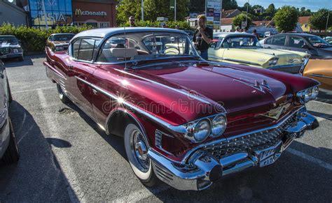 Chevrolet Cadillac 1958, Classic Amcar Editorial Stock