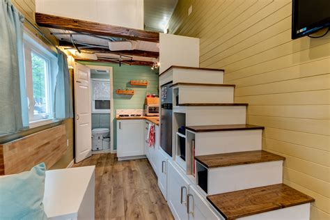 interiors of tiny homes custom finished tumbleweed mobile tiny house idesignarch