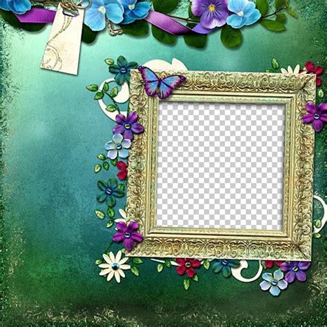 graph beautiful flower photo frame