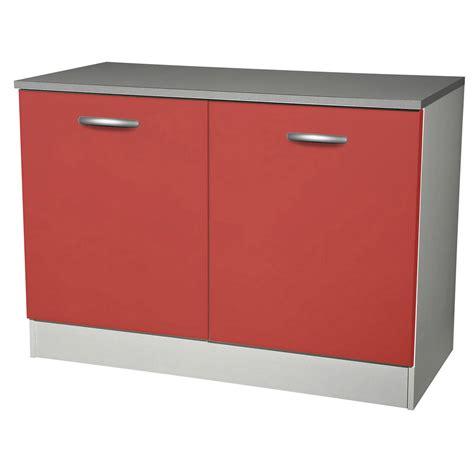 facade de cuisine brico depot meuble de cuisine bas 2 portes h86x l120x p60cm