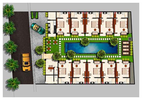 floor plan seminyak boutique hotel home plans