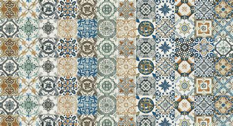 20cm x 20cm nikea vintage moroccan pattern decor wall
