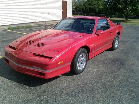 how cars run 1986 pontiac firebird trans am electronic valve timing buy used 1986 pontiac trans am 5 0l v8 auto loaded runs and drives excellent in ionia