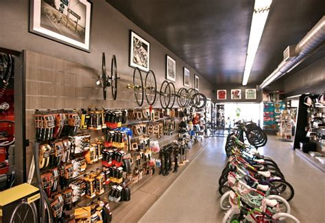 » I.Martin bicycle shop by Glow Exhibitions, Los Angeles