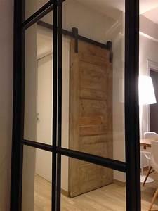 Appartamento Industriale Con Porta Scorrevole Esterno Muro