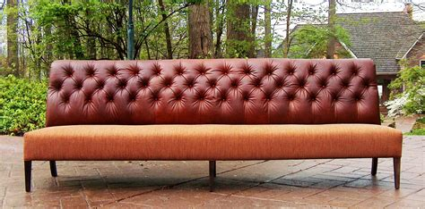 Leather Settees Or Banquettes