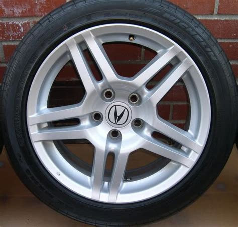 sold 2007 2008 acura tl base oem wheels acurazine