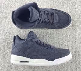 Air Jordan Retro 3 Grey Wool