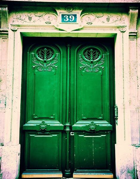 the green door emerald green the wit continuum