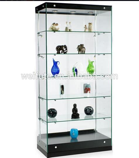 used lockable glass display cabinets new design wooden glass display cabinet showcase display