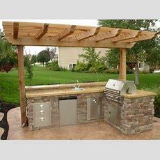 Außenbereich Funktional Gestalten Küche Einrichten Haus