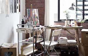 Atelier Einrichten Tipps : la desserte de peintre rend l 39 atelier de justin plus mobile id es d co pinterest desserte ~ Markanthonyermac.com Haus und Dekorationen