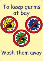 Keep The Germs Away - Signs2Schools