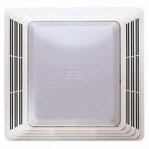 Broan 678 White 50 Cfm Quiet Bath Ceiling Ventilation Fan And Light Co