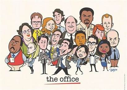 Office Poster Cartoon Backgrounds Wallpapers Character Posters