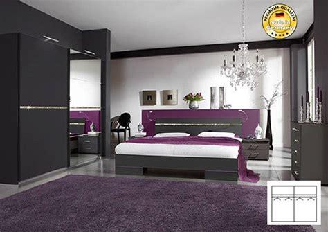 Schlafzimmer Komplett Mit Bett 160x200 SchwebetÜrenschrank