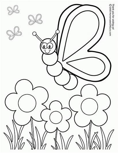 Coloring Summer Preschool Pages Popular