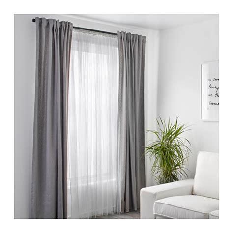 lill net curtains 1 pair white 280x300 cm ikea